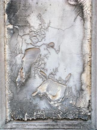 Deteriorated Gravestone